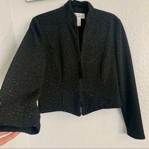Jessica Howard Vintage Black Jacket